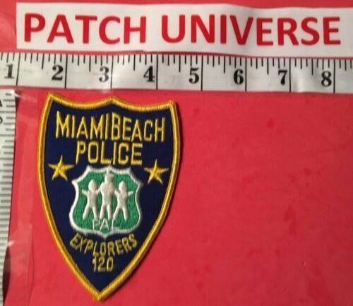 MIAMI BEACH POLICE EXPLORERS  SHOULDER  PATCH  L010