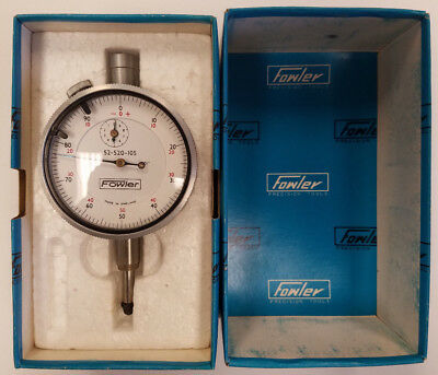 Fowler 52-520-105 - 0.5 Range .001 Grad Drop Dial Indicator 5a-c0017