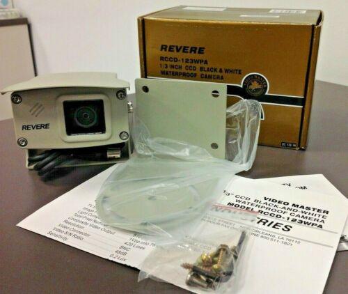 REVERE Video Master RCCD-123WPA, B/W Waterproof Camera, NIB, Free Shipping