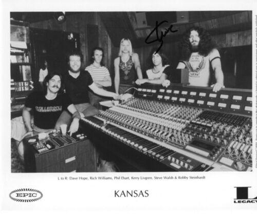 * STEVE WALSH * signed 8x10 photo * KANSAS ROCK BAND * COA * 2