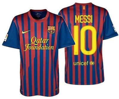 2c83f6e01c0 NIKE LIONEL MESSI FC BARCELONA YOUTH HOME JERSEY 2011 12.