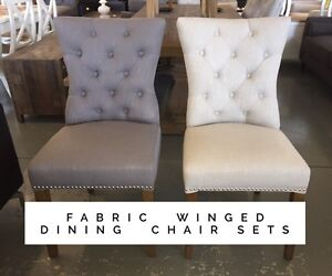 Stunning Winged Dining Chair Sets - 50% off RRP Dandenong South Greater Dandenong Preview