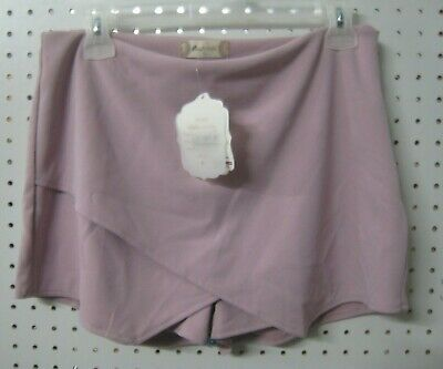 New Altar'd State Skort - Shorts with Front wrap Skirt - Side Zip Lilac Pink S M Front Wrap Altar