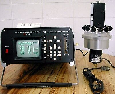 Particle Measuring System- Micro Lpc210 And Am-12