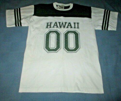 Vtg 2000 Alore Hawaii Jersey Style T-Shirt Men