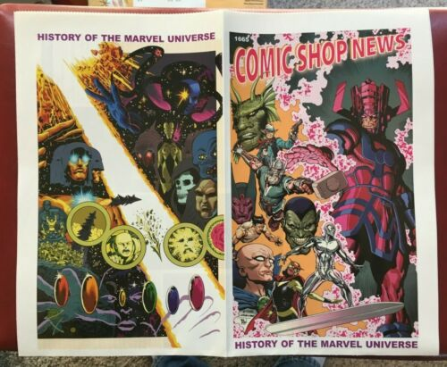 COMIC SHOP NEWS #1665 (2019) HISTORY OF THE MARVEL UNIVERSE