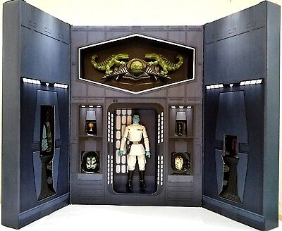 Hasbro Star Wars Black Series 6  Inch Grand Admiral Thrawn Sdcc 2017