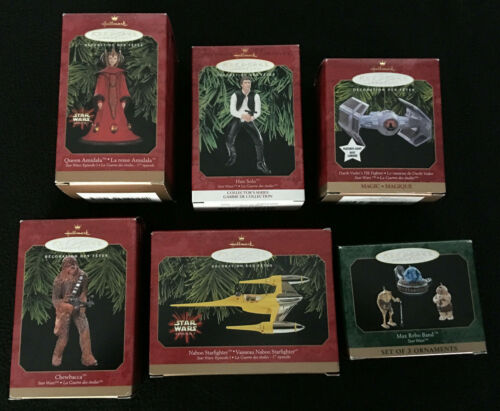 Star Wars Hallmark Ornament Set - 2000 Complete Ornament Collection