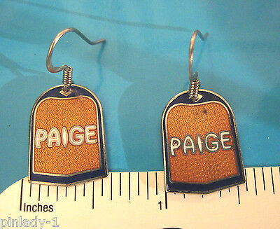 PAIGE - earrings , ear rings GIFT BOXED (Rings Paige Collection)