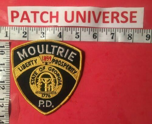 MOULTRIE GA POLICE SHOULDER PATCH  K042