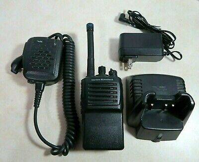 Vertex Standard Vx-351-adob-5 Vhf Radio 134-174 Mhz With Microphone Charger