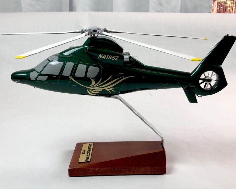 Bader Models Helicopter Airbus Helicopters H155 Wood Display Model
