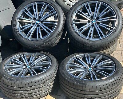 "Genuine BMW 3 Series 18"" Alloy Wheels 790M M Sport Goodyear Runflat Tyres G20"