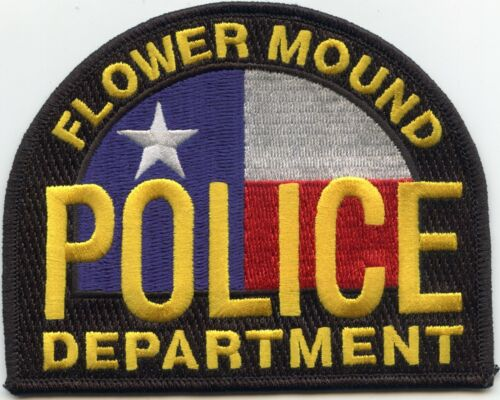FLOWER MOUND TEXAS TX POLICE PATCH