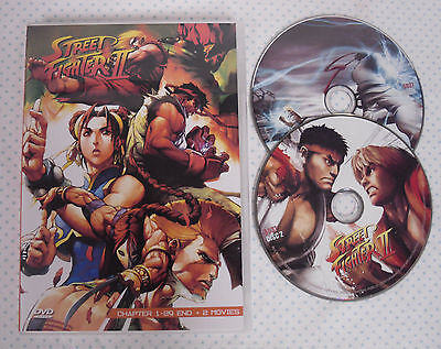 Street Fighter 2 Anime Fighting Action 2 Dvd Has Both Japaneses   English Audio