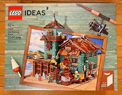 LEGO IDEAS OLD FISHING STORE (21310) - NEW & SEALED (READ DESCRIPTION)