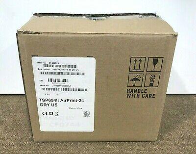 Star Micronics Tsp654ii Ethernetwifi Receipt Printer Gray New