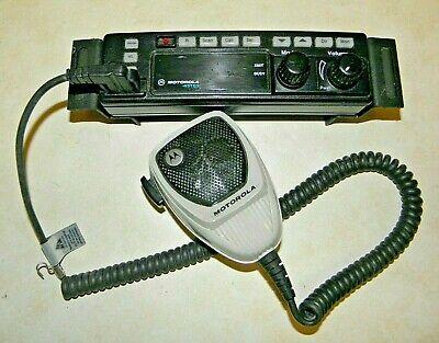 Motorola Astro Mhln66432e Radio Control Head With Bracket Hmn1080a Microphone