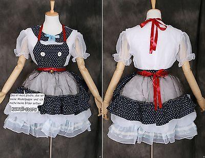 M-3291 Gothic Lolita Maid Cat little Witch Hexe Kleid Cosplay Kostüm costume - Gothic Witch Kostüm