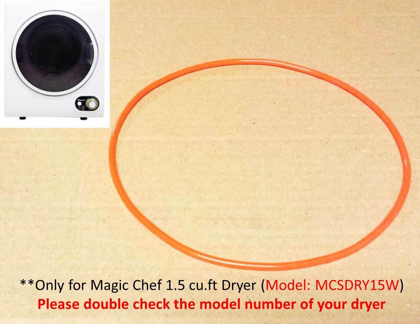 Portable Dryer Blower Fan Belt for Magic Chef 1.5 cu.ft. Com