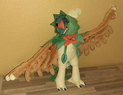 Pokemon Center Decidueye Bird Plush with bendable wings~12""