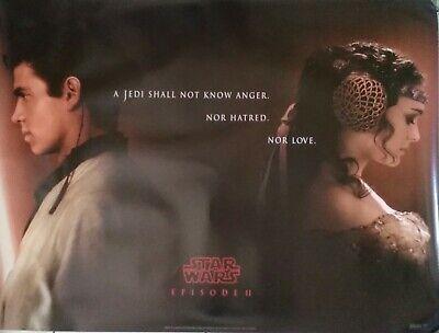 STAR WARS: EPISODE II ATTACK OF THE CLONES (2002) Original UK Quad Movie Poster