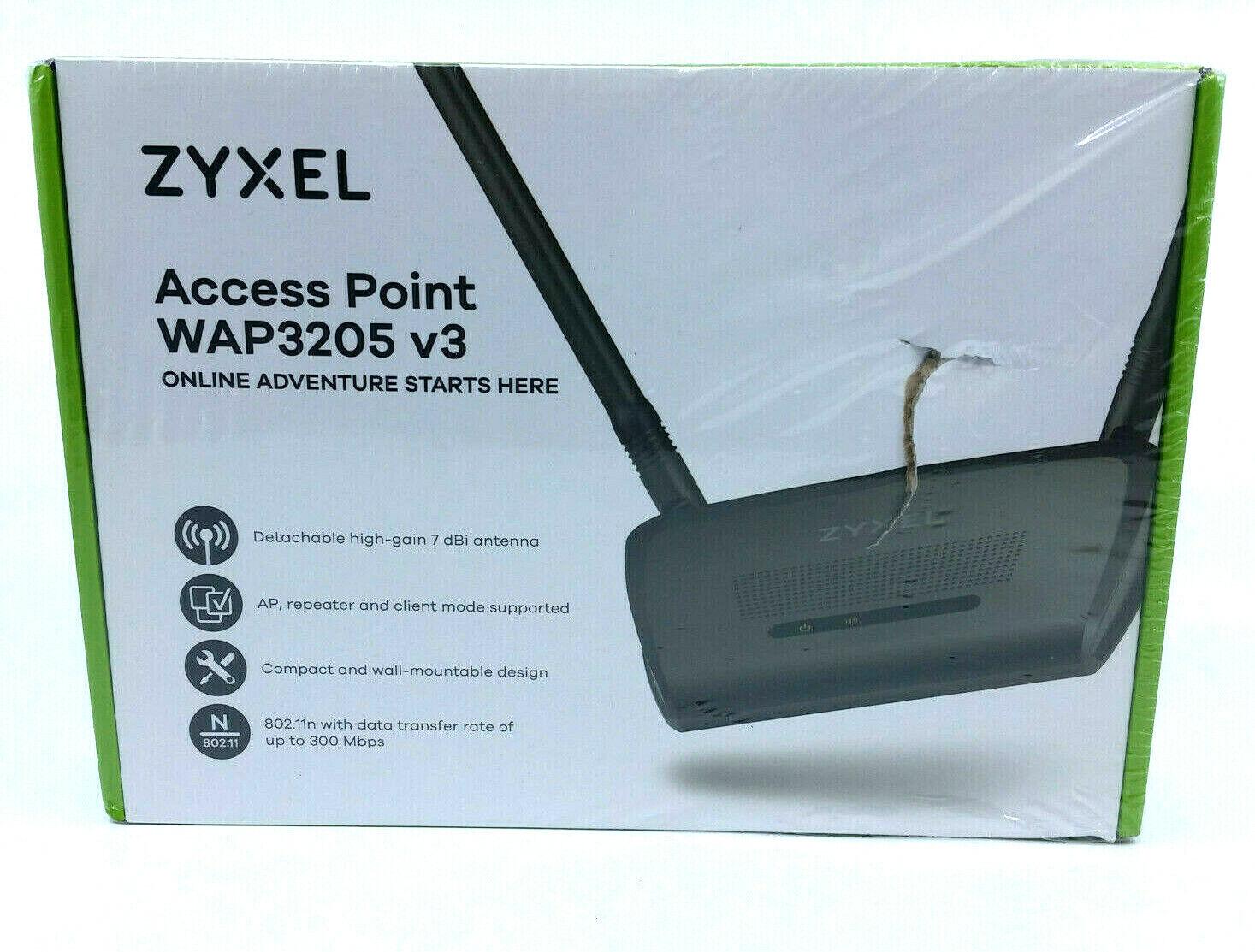 ZYXEL COMMUNICATIONS WAP3205V3 802.11n Wireless Access Point