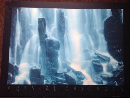 Crystal Cascade Unframed Image, 60/80cm