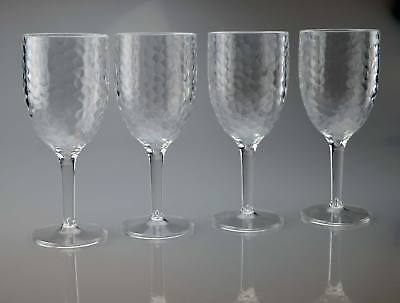 Plastic Goblets Bulk (**Wholesale** Wine Glasses Case of 24 High Quality Plastic Wine)