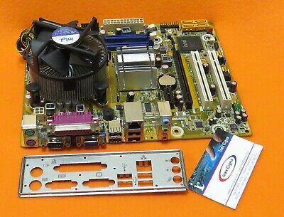 MotherBoard SCHEDA MADRE PEGATRON IPM41-D3 RAM DDR3 SOCKET LGA 775 + DISSIPATORE