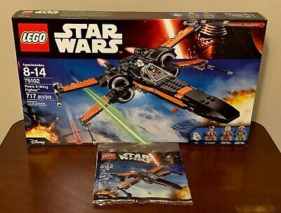LEGO Star Wars Poe's X-wing Fighter 75102, Brand New - Retired, Authentic!