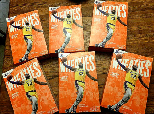 Lebron wheaties Cereal Box Collectible !! Perfect condition