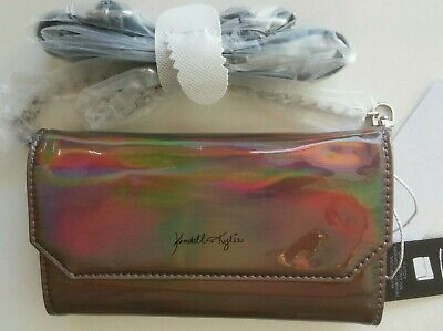 Kendall + Kylie Mini Belt Bag and Crossbody (Color: Iridescent)