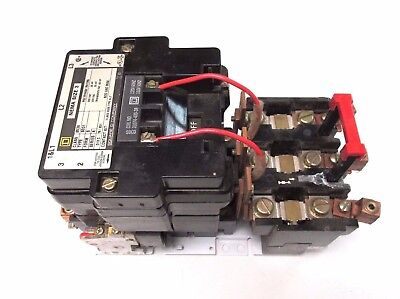 Square D Contactor Size 3 120v Coil 50hp575v Class 8536 Type Se01 .. Zm-309