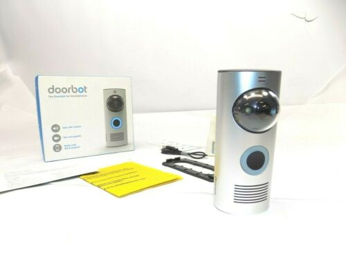 DOORBOT Wi-Fi Enabled Smart Doorbell Model DoorBot 1.0 Works