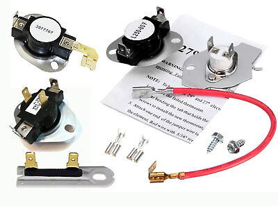 NEW PART 3399693 3392519 306910 3399848 ADMIRAL CLOTHES DRYER THERMOSTAT KIT