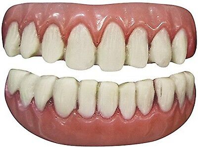 TINSLEY FX LONG TOOTH ADULT ACCESSORY HALLOWEEN COSTUME SCARY REALISTIC TEETH - Tooth Costumes