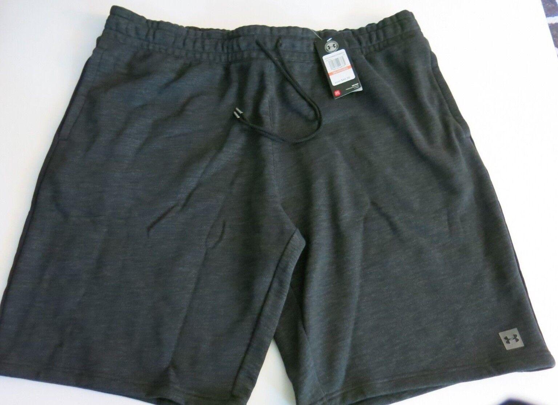 Men's Under Armour 3X/3XL Sweatpants Shorts Black Heather He