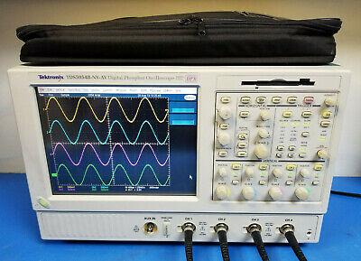 Tektronix Tds5054b 500 Mhz 5 Gsas Dpo Dpx Digital Oscilloscope
