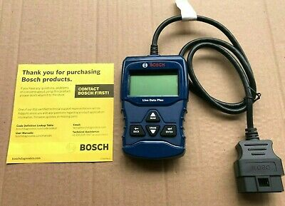 Bosch OBD 1100 OBD2 Automotive Scanner Code Tool Reader With Live Eng Data & ABS