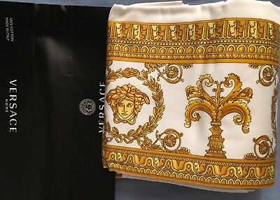 VERSACE MEDUSA FLAT SHEET ORIGINAL AUTHENTIC ITALY $400 BEST GIFT SALE only 1