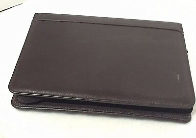 Franklin Covey Day Planner Chocolateespresso Top-grain Cowhide Leather 8x10.25