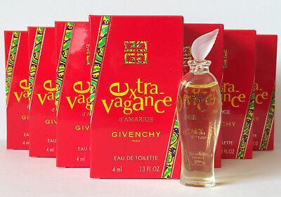GIVENCHY Extravagance d'AMARIGE EdT 40 ml (10 X 4 ml Miniature) OVP...
