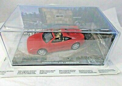 JAMES BOND 007 Ferrari F355 GTS Golden Eye in PERSPEX CASE 1:43