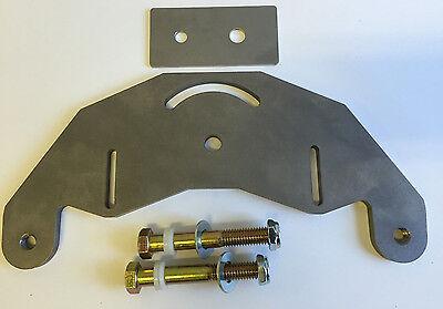 Belt Grinder D-backing Plate For 2x72 Knife Making Grinder With Bolt Axles