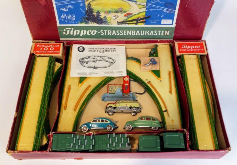 Tippco, Strassenbaukasten Road-Building-Set No. 797, 1952, Very Rare, Excellent!