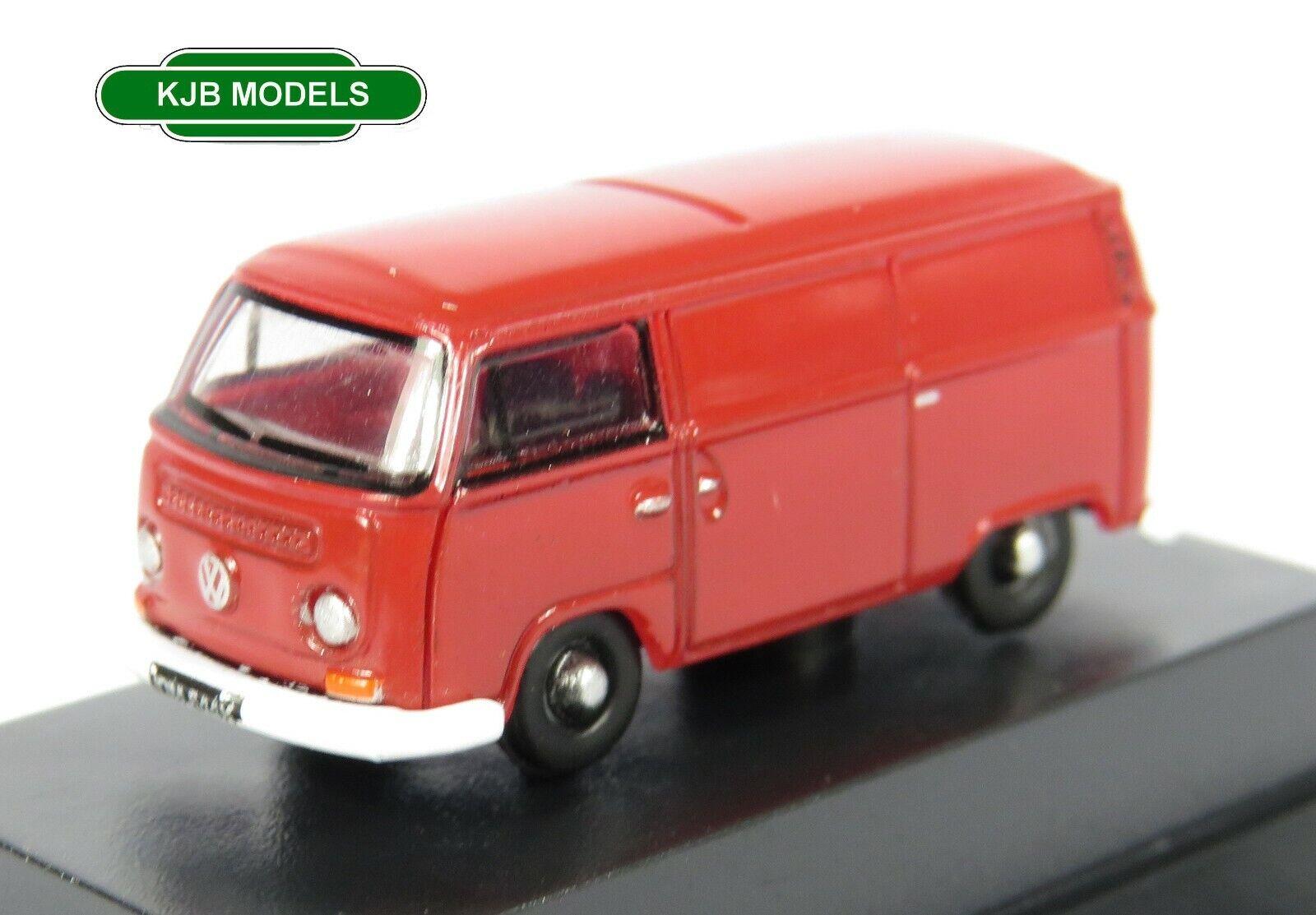 BNIB N GAUGE OXFORD 1:148 NVW005 Senegal Red VW Van