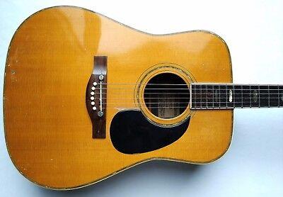Alvarez Kazuo Yairi 5060 Standard Abalone Acoustic Electric Guitar 1973 w/HSC