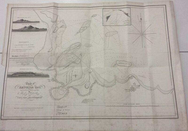 * ERITREA - Chart 1814 -  Amphila Bay (Henry Salt)