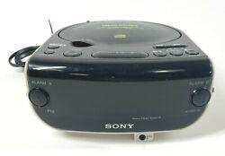 SONY ICF-CD815 Dream Machine Alarm Clock CD Player AM/FM Radio CD-R/RW